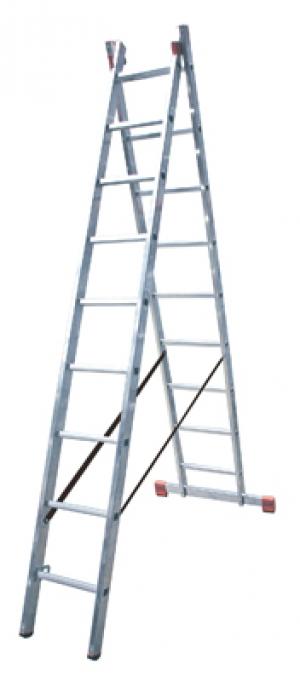 Лестница Dubilo 2x9 купить на выгодных условиях в Омске