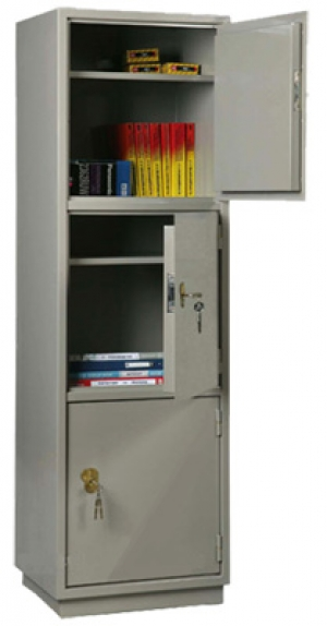 Шкаф металлический для хранения документов КБ - 033 / КБС - 033