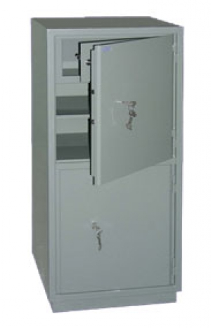 Шкаф металлический бухгалтерский КС-2Т